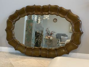"""58""""x38"""" (Maitland mirror)very elegant and classy mirror,wood frame and well made for Sale in Laguna Niguel, CA"""