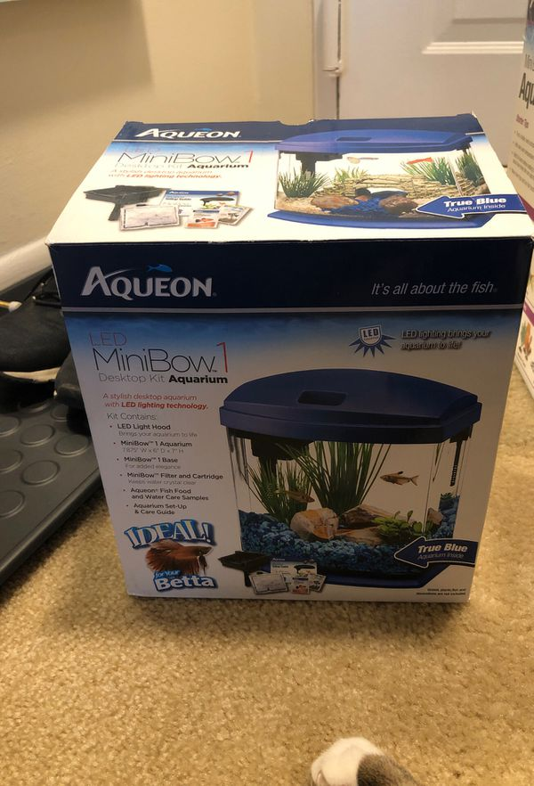 Aqueon Mini Bow Aquarium
