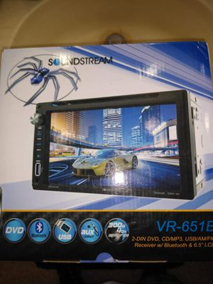 Sound stream double din brand new in the box for Sale in Downey, CA