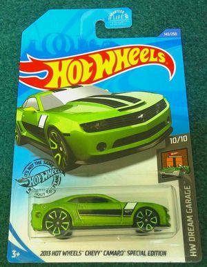 2020 Hot Wheels 2013 Chevy Camaro Special Edition #143/250 HW Dream Garage 10/10 Treasure Hunt for Sale in Whittier, CA