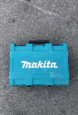 Makita impact drill case for Sale in Davie, FL