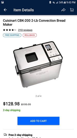 Brand new Cuisinart bread maker for Sale in Pembroke Pines, FL