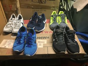 5 pairs Nike shoes 👟 size 11 for Sale in Mission Viejo, CA