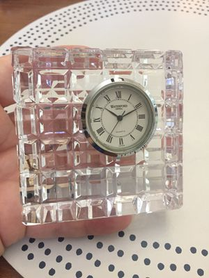 Waterford Crystal clock for Sale in Tacoma, WA