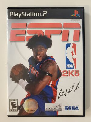 ESPN 2K5 for Playstation 2 (PS2) - Excellent Condition for Sale in Chula Vista, CA