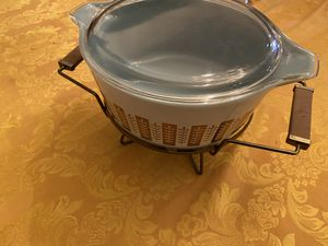 Vintage Gormet Pyrex Casserole Dish Candle Warmer Burner 2.5 Qt 475 for Sale in Henderson, NV