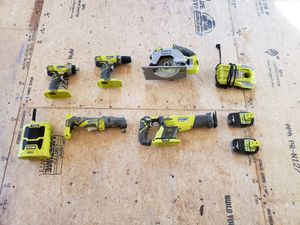 Ryobi tools for Sale in Taunton, MA