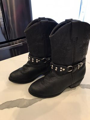 Girls size 2.5 cowgirl boots for Sale in Chicago, IL