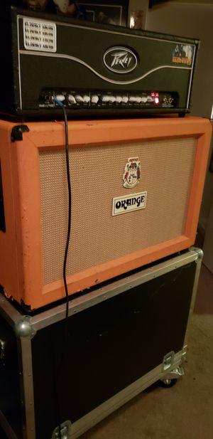 Orange 2x12 guitar cabinet (closed back) w/ road case for Sale in Piedmont, CA