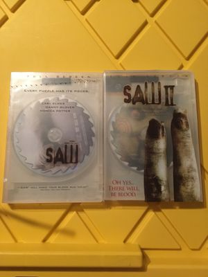 SAW 1 and 2 DVD for Sale in Long Beach, CA