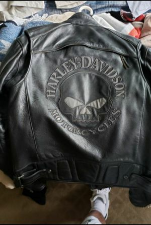 Harley Davidson Willie G leather Jacket for Sale in Tacoma, WA