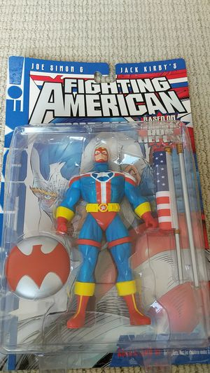Awsome toys, Fighting American Action Figure Collectible for Sale in Burbank, CA