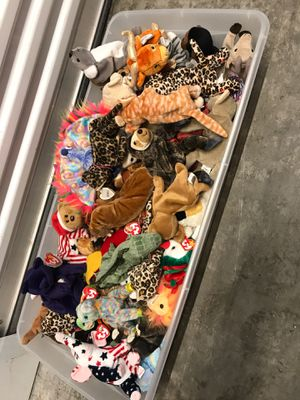 55+ beanie babies for Sale in Renton, WA