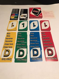 Vintage 1979 Uno Card Game Complete with Instructions & Original Box for Sale in San Angelo,  TX