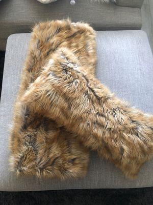 Faux Fur Throw & Pillow for Sale in Phoenix, AZ