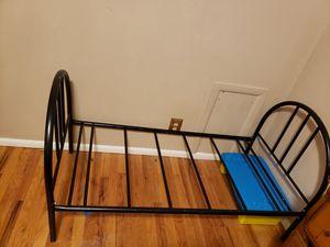 Toddler bed frame metal for Sale in PUEBLO DEP AC, CO