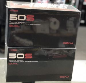 Sena 50S Dual pack Bluetooth communicator for motorcycle helmets for Sale in Los Angeles, CA