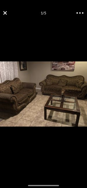 Brown sofas for Sale in Stockton, CA