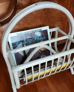 Rattan Bamboo Magazine Rack for Sale in San Diego,  CA