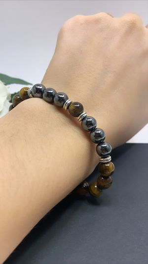 Natural Tiger Eyes Beads Bracelet for Sale in Los Angeles, CA