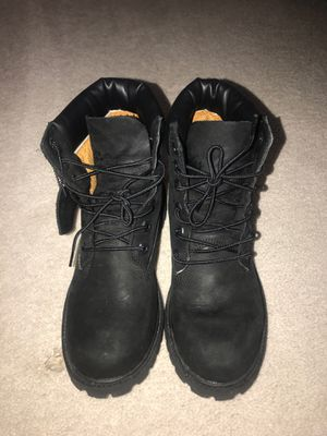 Black timberland boots for Sale in Derwood, MD