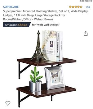 Wall Mount Shelves for Sale in Palmdale, CA