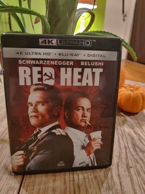 Red Heat 4K UHD + Remastered Blu-ray disc for Sale in South Pasadena, CA