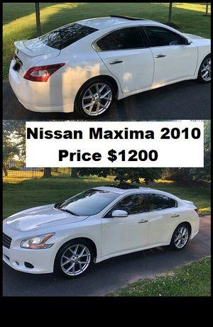 ֆ12OO_2010 Nissan Maxima S for Sale in Norwalk, CA