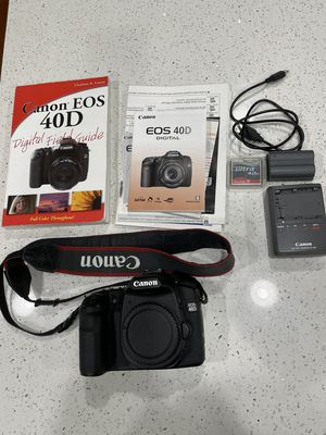 Canon 40D Digital SLR Body Excellent for Sale in Tulalip, WA