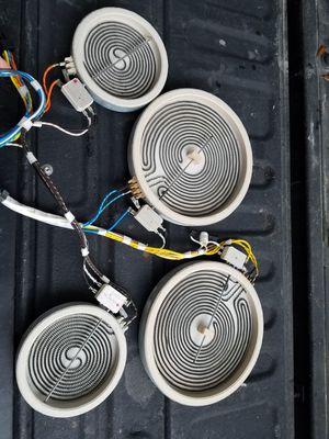 Stove glasstop coils for Sale in San Antonio, TX