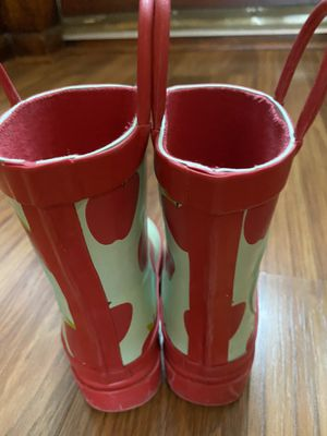 Rain boots kids size 7 snow white disney store girls for Sale in Clifton, NJ
