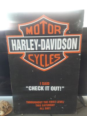 Harley Davidson poster for Sale in Anaheim, CA