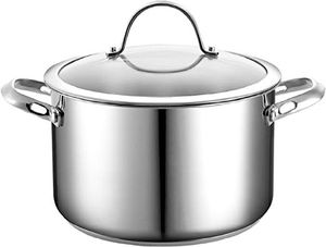 Parini Classics 4qt Stainless Steel Dutch Oven with Lid for Sale in Los Angeles, CA