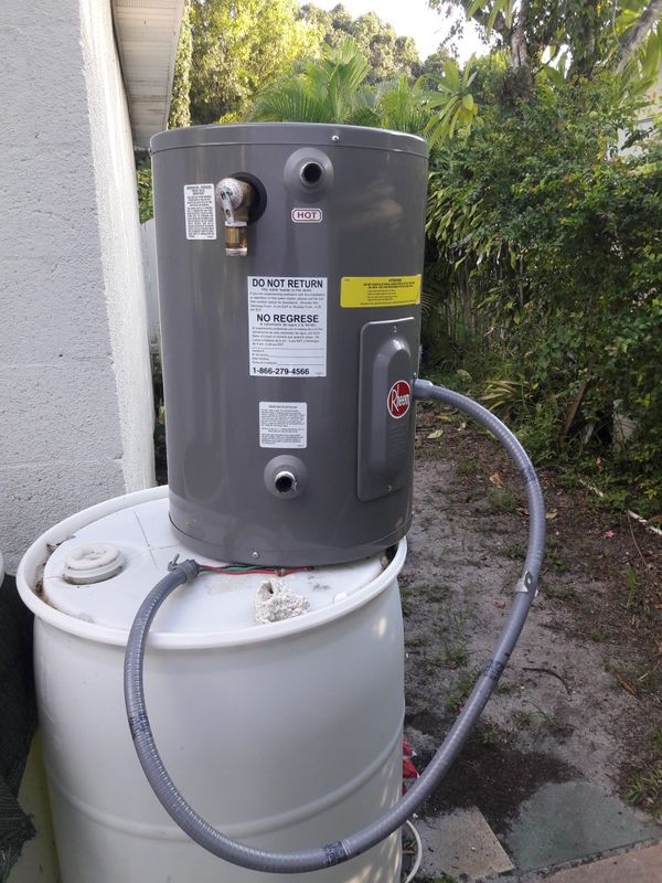 10 gallons water heater