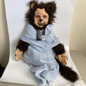 Werewolf Puppet Prop Doll Scary Halloween for Sale in Sandy, UT