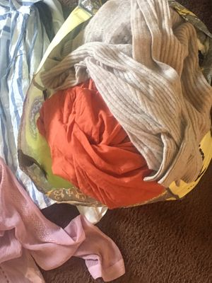Brand names small clothes free everything inside the bag it's clean too for Sale in ROWLAND HGHTS, CA
