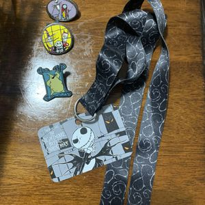 Disney Pins and Lanyard for Sale in Ontario, CA