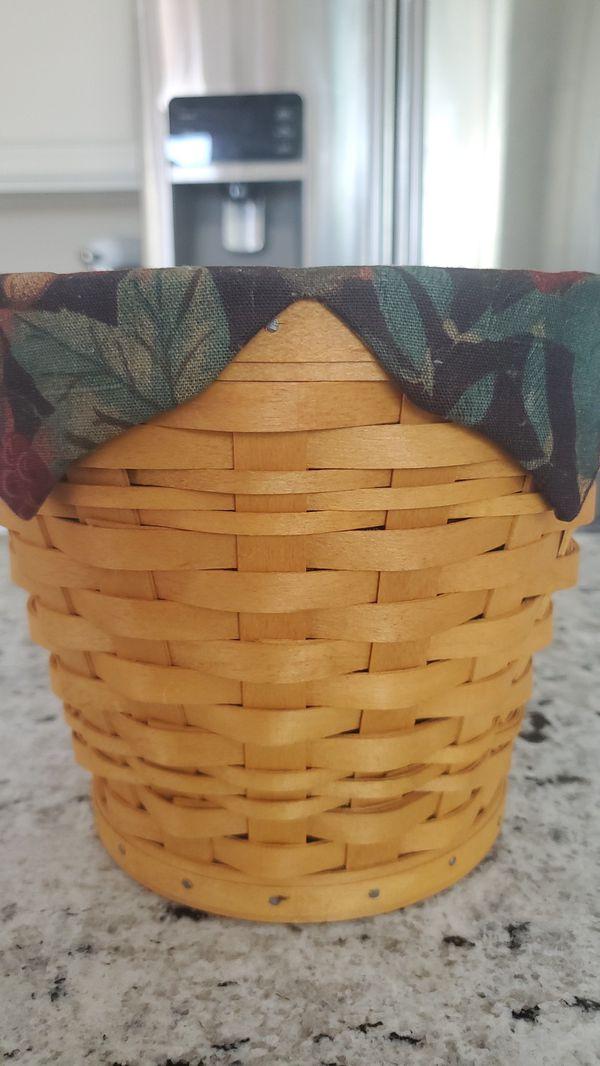 Longaberger custom basket