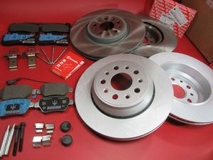 Maserati Ghibli Quattroporte Base front rear Brembo brake pads disc rotors #105 for Sale in Hallandale Beach, FL
