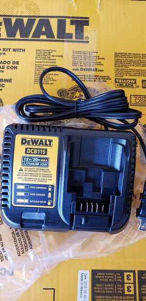 Dewalt 20v cargador brand new for Sale in Anaheim, CA