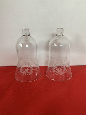 Home Interiors Christmas Wreath Glass Votive Sconces Candle Holders Cups for Sale in Riverside, CA