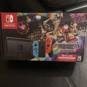Nintendo Switch Deluxe Bundle for Sale in Houston, TX