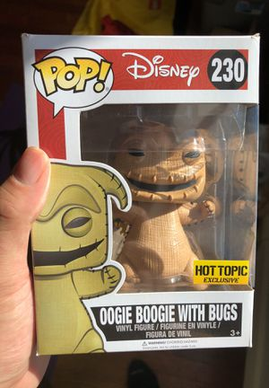RARE Nightmare before Christmas POP (Oogie Boogie) for Sale in Portland, OR