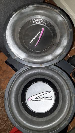 12 inch Audiobahn speakers for Sale in Fresno, CA