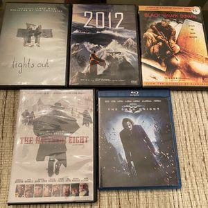 5 Dvd Lot for Sale in Milton, FL