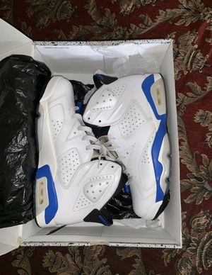 "Air Jordan Retro 6 ""Sport Blue"" Size 9 for Sale in Lacey Township, NJ"