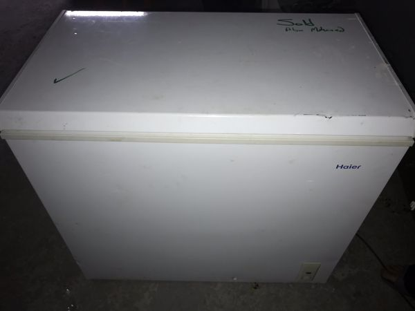 Haier Medium size chest freezer $150