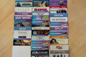 Digital Movies $5-$10 for Sale in Azusa, CA