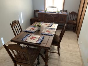 Dining set with buffet for Sale in Fort Wayne, IN