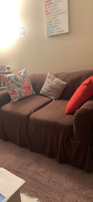 Couch with pillows for Sale in Kearney, NE